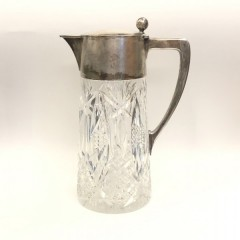 Графин хрусталь, серебро